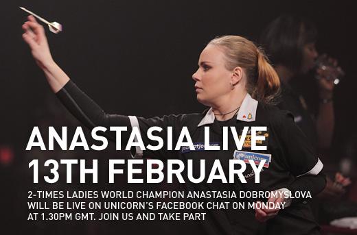Anastasia Live on Unicorn Team Chat
