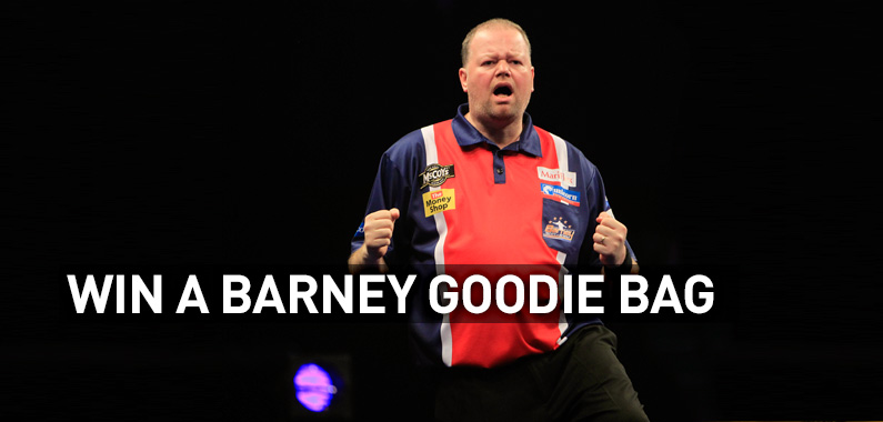 Win a Barney Goodie Bag