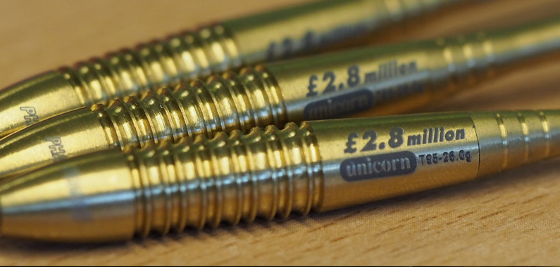 Win an engraved limited edition set of the most successful darts ever manufactured